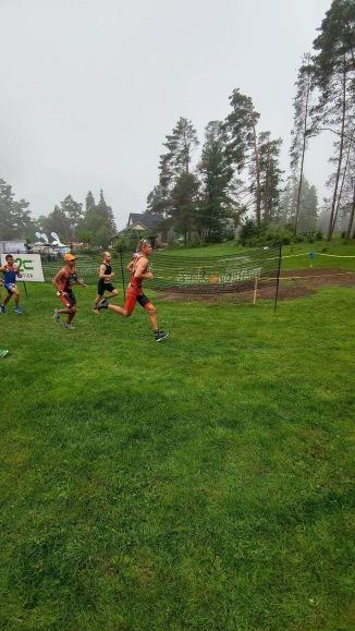 Running from start line